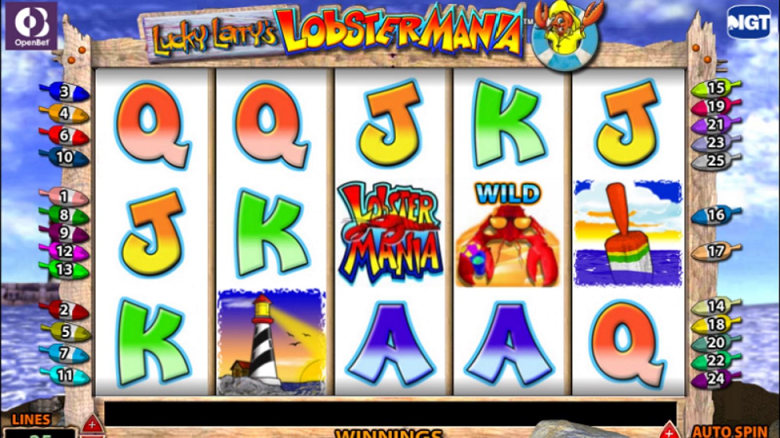 Free Online Slots Lobstermania