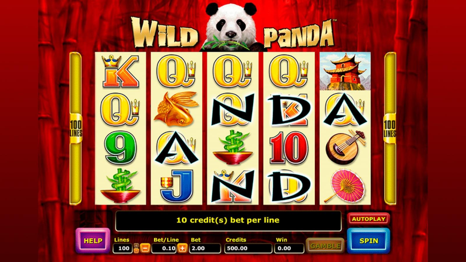 Free Wild Panda Slots Online