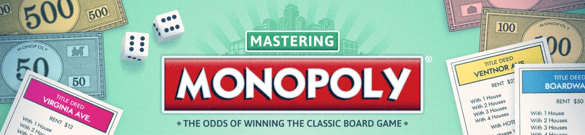 Monopoly - Odds of Winning the Classic Board Game