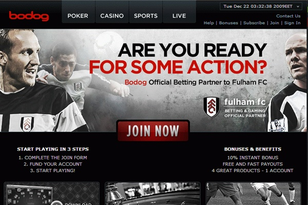 Online sportsbook bonus
