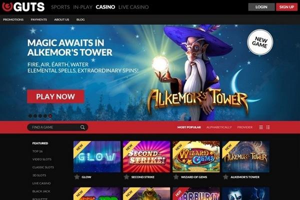 Guts casino review 2020 get a вј300 welcome bonus now