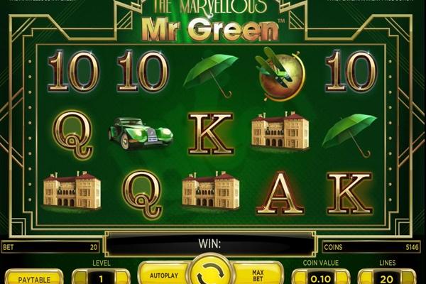Mr Green Slot