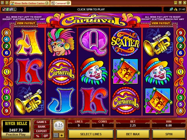 River Belle Casino Free Slots