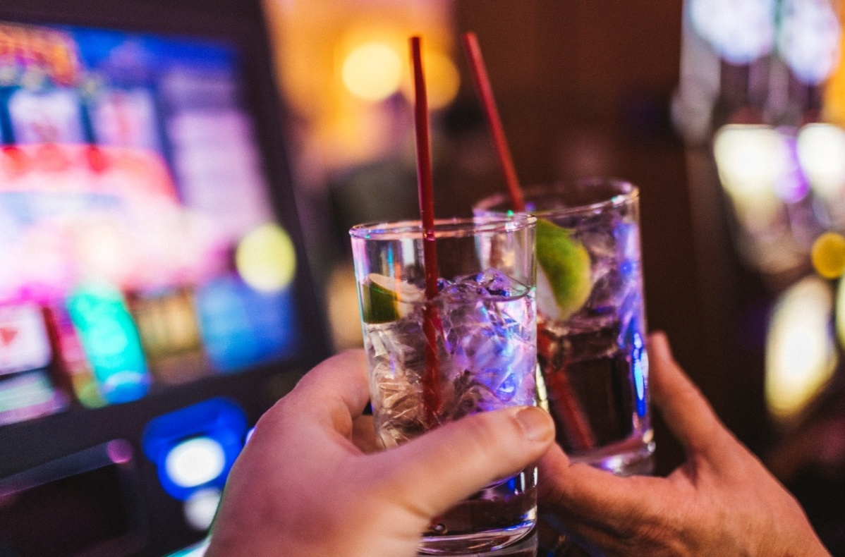 Drinks at casino