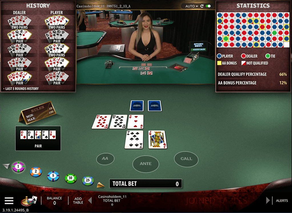 Play Casino Hold'Em Video Poker Online at Casino.com