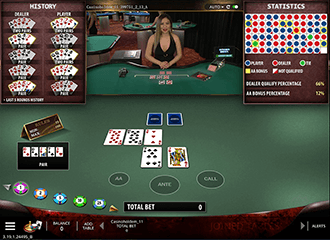 Live Holdem Table