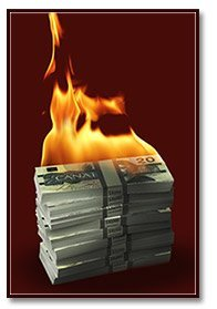 burning cash