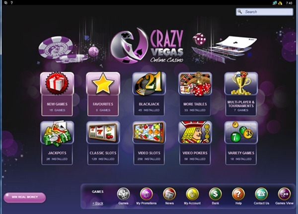 Crazy Vegas Casino Online Review With Promotions & Bonuses