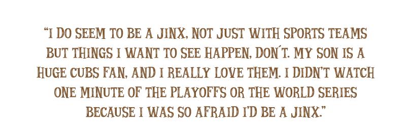 Quote: The Jinxed Fan