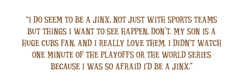 Quote: The Jinxed Fan